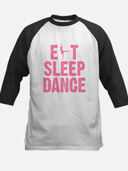 EAT SLEEP DANCE Kids Baseball Jersey