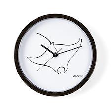 Manta Wall Clock