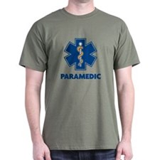 EMS Star of Life with Paramedic T-Shirt