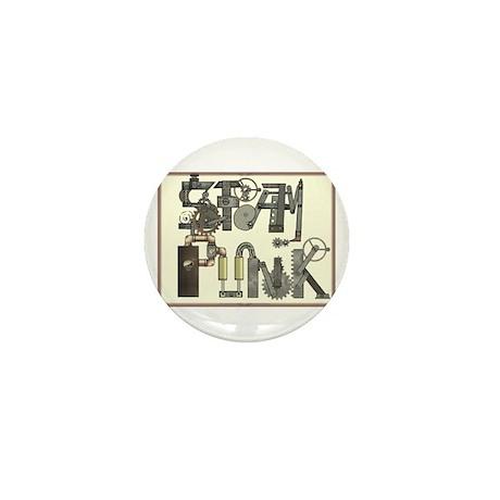 SteamPunk Mini Button (10 pack)