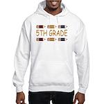Fun 5th Grade Hooded Sweatshirt