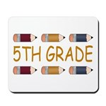 Fun 5th Grade Mousepad