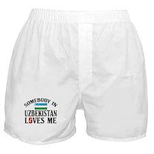 Somebody In Uzbekistan Boxer Shorts