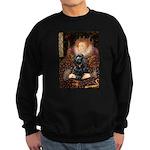 Queen / Cocker Spaniel (blk) Sweatshirt (dark)