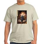 Queen / Cocker Spaniel (blk) Light T-Shirt