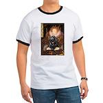 Queen / Cocker Spaniel (blk) Ringer T