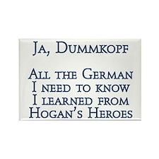 Dummkopf3 white Magnets
