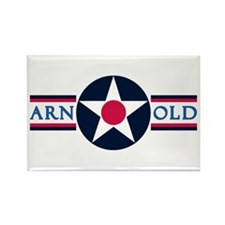 Arnold Air Force Base Rectangle Magnet