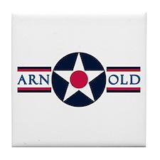 Arnold Air Force Base Tile Coaster