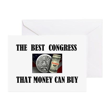 BUY A CONGRESS MEMBER TODAY Greeting Cards (Pk of
