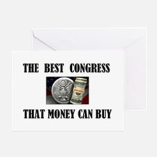 BUY A CONGRESS MEMBER TODAY Greeting Card