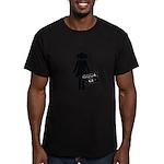 music lover Men's Fitted T-Shirt (dark)