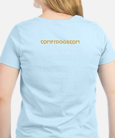 Comfy Dogs of Natick, MA Dog T-Shirt
