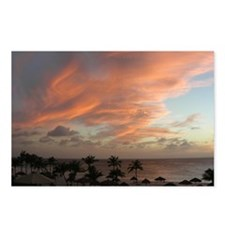 Aruba Sunset Postcards (Package of 8)