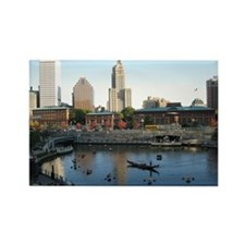 City of Providence Rectangle Magnet
