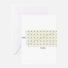 Coprime Lattice Greeting Card