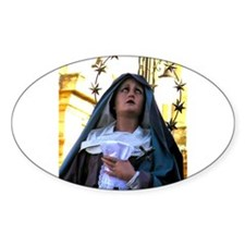 Our Lady of Sorrows Oval Decal