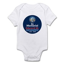 Ted Kennedy In Memorial Infant Bodysuit