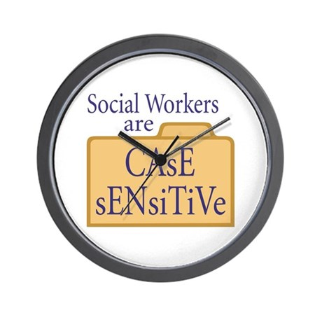 Social Workers Wall Clock