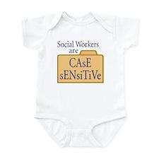 Social Workers Infant Bodysuit