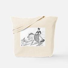 Unique Horse saddle Tote Bag
