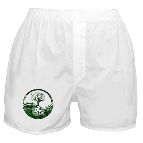 Yin Yang Tree Boxer Shorts