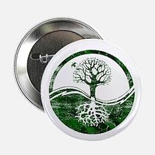 """Yin Yang Tree 2.25"""" Button"""