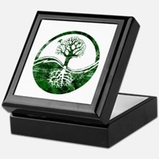 Yin Yang Tree Keepsake Box