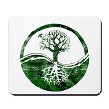 Yin Yang Tree Mousepad