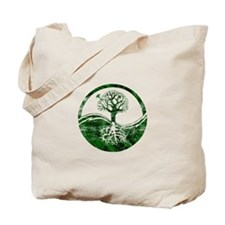 Yin Yang Tree Tote Bag