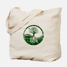 Yin Yang Tree Tote Bag