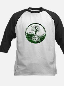 Yin Yang Tree Kids Baseball Jersey