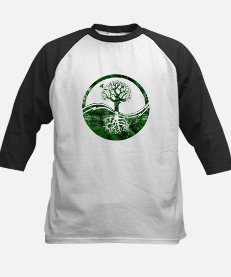 Yin Yang Tree Kids Baseball Jersey