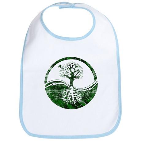 Yin Yang Tree Bib