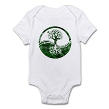 Yin Yang Tree Infant Bodysuit