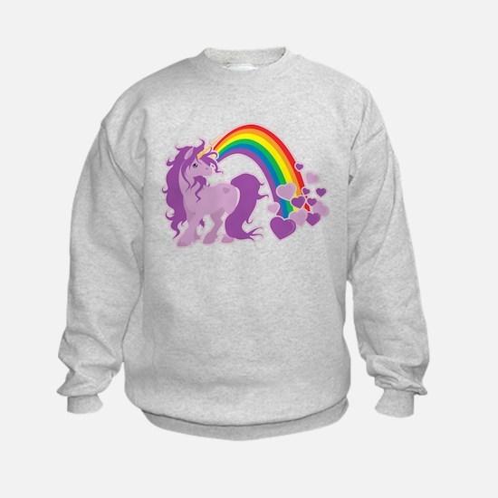 GIRLY UNICORN Sweatshirt