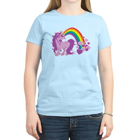 GIRLY UNICORN Women's Light T-Shirt