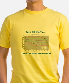 'Turn Off the TV...' T