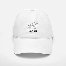 Cheerleading Equals Death Baseball Baseball Cap