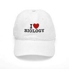 I Love Biology Baseball Cap