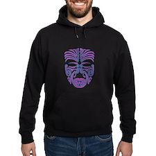 purple moko Hoodie