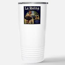 Stainless Steel Rialto Citrus LabelTravel Mug