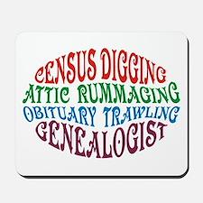 Census Digging Mousepad