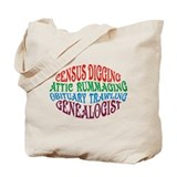 Genealogy Canvas Bags