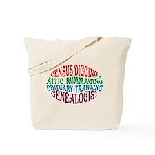 Census Digging Tote Bag