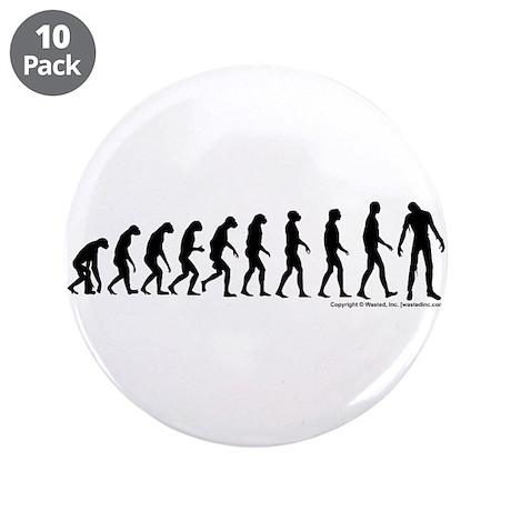 "Zombilution 3.5"" Button (10 pack)"
