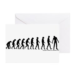 Zombilution Greeting Cards (Pk of 20)