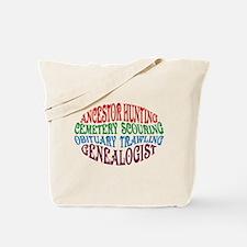 Ancestor Hunting Tote Bag