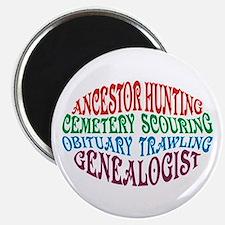Ancestor Hunting Magnet