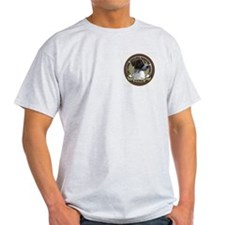 pointer addict Ash Grey T-Shirt